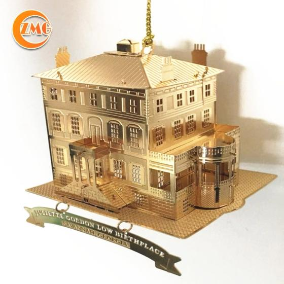 Wholesale High Quality Customized 3D Metal Model Crafts