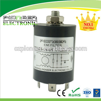 PE2600-16-01 16A 120V/250V AC Power Noise Filter for Vacuum Cleaners