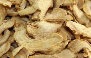 Wholesale iso9001 certificated: Dried Ginger Slice