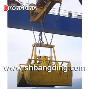 Wholesale crane: 12cbm Electro Clamshell Hydraulic Grab for Ship Crane To Discharge Bulk Cargo