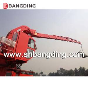 Wholesale marine: Hydraulic Knuckle Telescopic Boom Marine Deck Crane