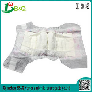 Wholesale baby diapers: China Diaper Manufacturer 2017 NEW High Absorption Breathable Cheap BABY DIAPERS
