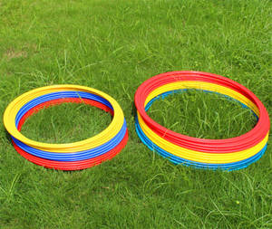 Wholesale soccer: Fitness Soccer Football Exercise Agility Speed Ring