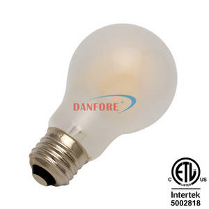 Wholesale A60: Dimmable 5W Filament LED Bulb Frosted A60/A19