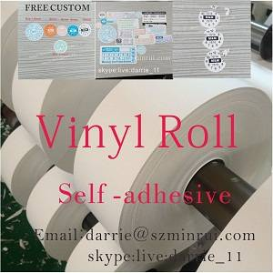 Wholesale used mobile phones scrap: Security Destructible Warranty Sticker Paper Roll Serial Number Sticker Labels Self Adhesive Vinyl S