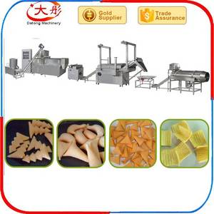 Wholesale chips making production line: Best Corn Puff Snacks Food Making Machine