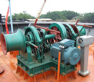 Wholesale small diameter spur: Marine Windlass