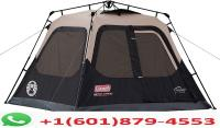 Coleman Cabin Tent with Instant Setup   Cabin Tent for Camping Sets Up