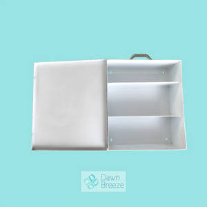 Wholesale wall mounted first aid: Large 3-Shelf Industrial First Aid Station Steel Case, 16.5'' * 13.75'' * 5.75''