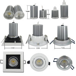 Wholesale spotlight fitting for halogen: SAA C-tick CE RoHS Approved Dimmable LED Retrofit COB Downlight 10W with Sharp/Bridgelux Chip