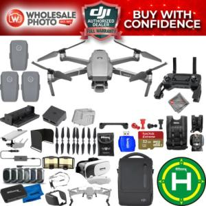 Wholesale display screen: NEW SEALED DJI Mavic 2 PRO Drone Quadcopter with DJI Smart Controller (W/Touch Screen Display) and F