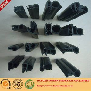 Wholesale Automotive Rubber: Automobile Door and Window Rubber Sealing Strip