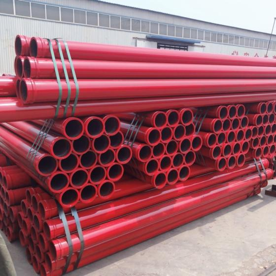 ST52 Seamless Concrete Pump Pipe  DN125