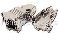 Wholesale d-sub connector: D-sub 9pin Connector DB 9PIN Metal Hood