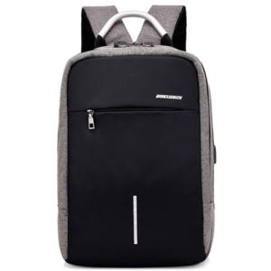 Wholesale laptop bag: 15.6 Inch Laptop Unisex USB Port Water Resistant Business Anti-theft Bag  Computer Notebook Backpack