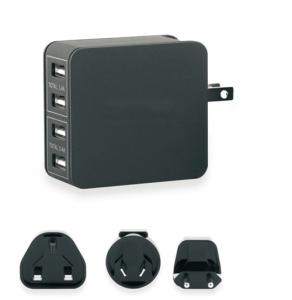 Wholesale usb chargers: China High Qualty New 4 *USB Port Wall Charger Wholesale