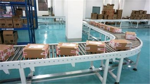 China Good Price Stainless Steel Good Quality Flexible Power Roller Conveyor