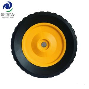 Wholesale rpo: Chinese Supplier 8 Inch Semi Pneumatic Rubber Wheel for Generator Stair Climbing Cart Trolley