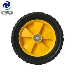 Wholesale washer: Rubber Tires 10 Inch Solid Rubber Plastic Wheel for Generator Pressure Washer Dehumidifier Wholesale