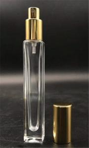 Wholesale glass perfume bottle: China Hot Sale Perfume Square Tube Cling Neck Glass Bottle 10ML Wholesale