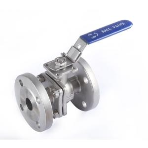 Wholesale valve ball: Stainless Steel Precision Casting Threaded 2PC Flanged Ball Valve Wholesale