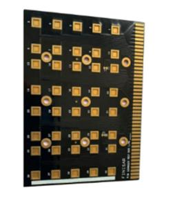 Wholesale Double-Sided PCB: Single Copper Substrate PCB Black Gold Fingers Manufacturer
