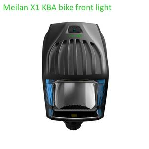 Wholesale bicycle head light: Factory Meilan X1 StVZO Bicycle Front Head Light LED USB Rechargeable Germany Certification