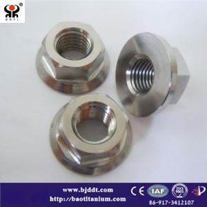 Wholesale ti-6al-4v: Titanium Nut DIN6923 GR2 GR5 M3