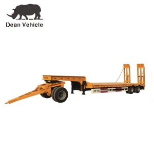 Wholesale Trailer: Lowbed Semi Trailer with Dolly