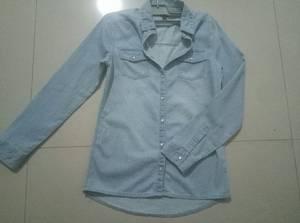 Wholesale ladies wear: Ladies Denim Shirts-T-QY1017