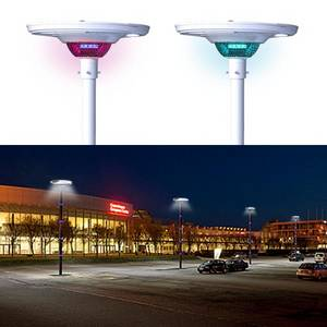 Wholesale landscape lighting: UFO Landscape Light 30W Waterproof IP65 Integrated Street Light