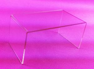 Wholesale wallet: Fashion Clear Acrylic Hand-made Wallet Stand Toy Jewelry Gifts Showcase