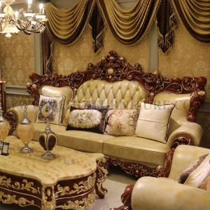 Wholesale sofa spring: Villa European Luxury Sofa