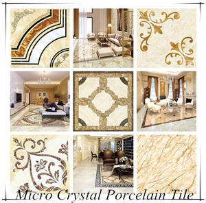Wholesale terrazzo tiles: 80x80 Foshan High Quality Micro Crystal Terrazzo Keramik Glass Porcelain Floor Carpet Tile