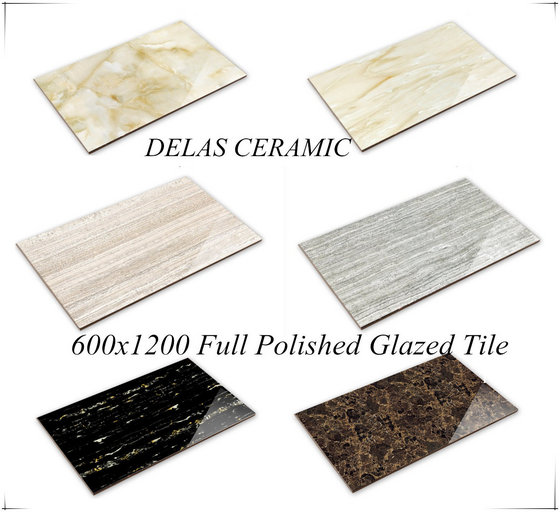 Foshan Building Material Polished Glazed Ceramic Floor Gres De Valls Porcelain Tile 60x120