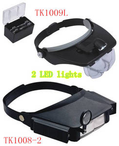 Wholesale art piece: Head Headband / Hands Free Surgical Magnifier with LED