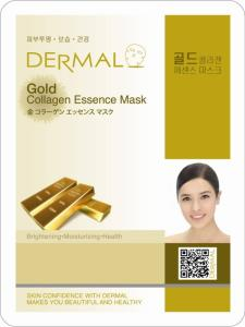 Wholesale gold collagen essence mask: Dermal Gold Collagen Essence Mask