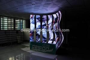 Wholesale magnetic screening: P6 Indoor Flexible Magnetic LED Screen