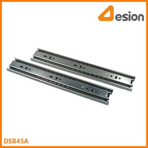 Wholesale drawer slides: 45mm Full Extension Ball Bearing Drawer Slides