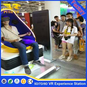 Wholesale cinema seating: October Big Promotion! Factory Best Price for 9d Vr Virtual Reality Egg Shaped Cinema One Seat