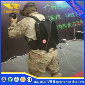 Wholesale underwater speaker: October Big Promotion! Factoty Sell 9d Vr Products Virtual Reality Backpack Walker Games with Htc Vi