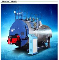 Diesel Fired Steam Boiler 2T/H for Texting