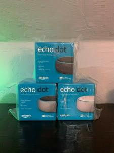 Wholesale charcoal: Amazon Echo Dot 3rd Generation with Alexa Far-Field Voice Control Charcoal New