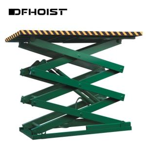 Wholesale scissors: DFHOIST-China Hot Sale Stationary Hydraulic Scissor Aerial Work Lift Platform/ Stationary Scissor Li
