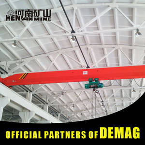 Wholesale modular data center: Factory Video !!! Electric Single Girder 2 Ton Overhead Crane Price 5 Ton