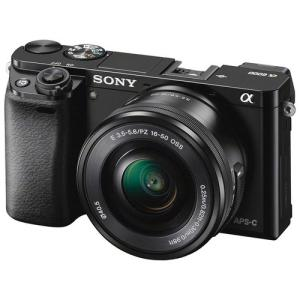 Wholesale natural button: Sony Alpha A6000 Mirrorless Digital Camera with 16-50mm Lens (Black)