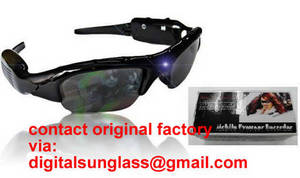 Wholesale flashlight dvr: mobile eyewear recorder spy sunglasses dvr camera sunglasses