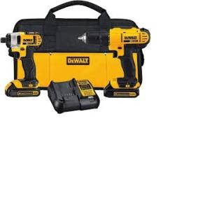 Wholesale cordless drill: ORIGINAL Power Drills-DeWalt 20-v Max Lithium Ion Cordless ComboS Kits(15-Tool)Extra Charger & Tool