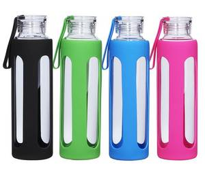 Wholesale sports bottle: High Quality Cheap Price Sport Drink Glass Water Bottle