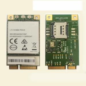 Wholesale cat: FDD LTE Module CAT4 4G LTE PCIE Module with SIM Card Holder